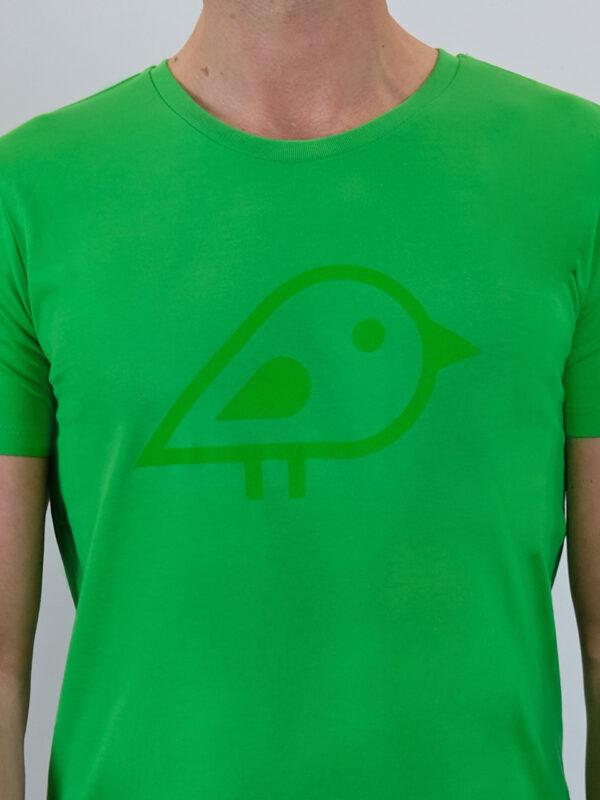 Camiseta bird green2