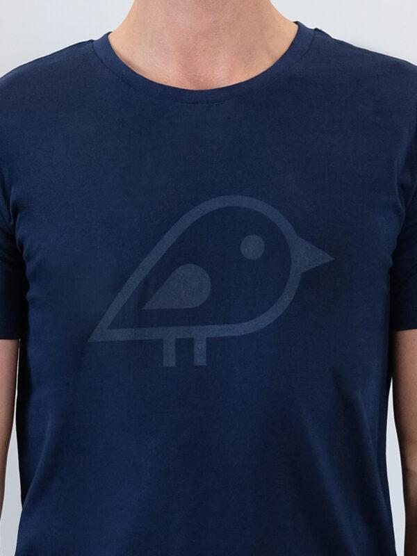 Camiseta bird navy2