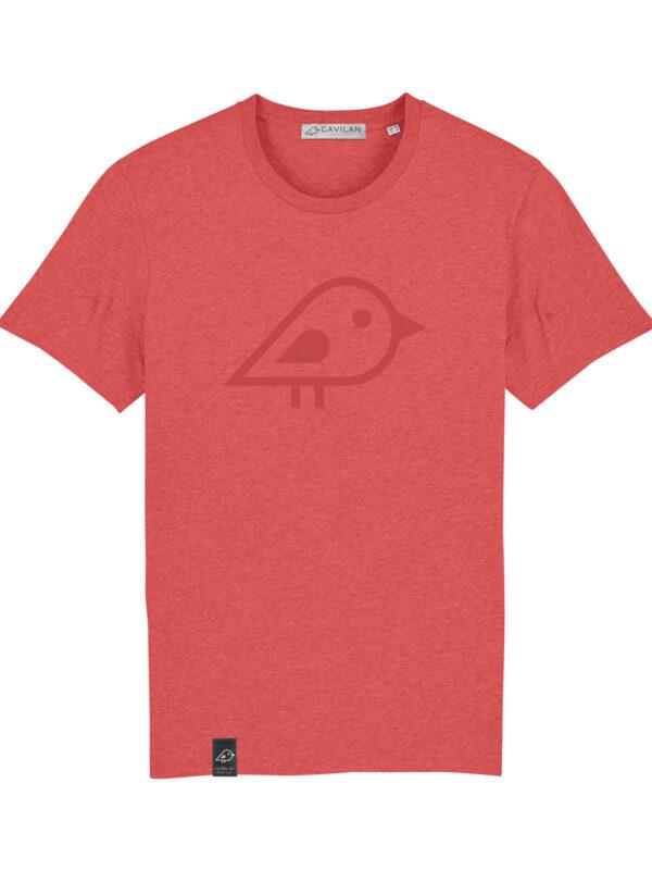 Camiseta bird coral clean