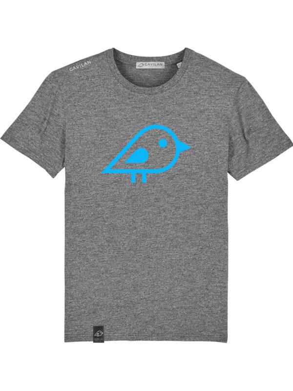 Camiseta bird grey clean